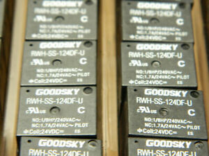 18 Pack Rwh ss 124df u 24vdc Relays Goodsky Brand New Free Shipping 18 Pack