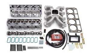 Edelbrock Power Package Top End Kit Victor Jr Series For Chevrolet 1997 2004 5 7