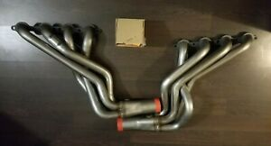 Pacesetter Long Tube Stainless Steel Headers 04 07 Cadillac Cts V