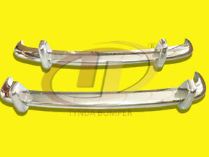Bumpers Vw Type 3 1963 1969 Stainless Steel Polished Sus 304