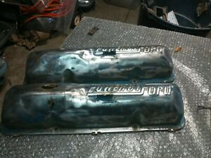 Ford Powered By Ford Valve Covers Date Stamp Is 5 26 D2 72