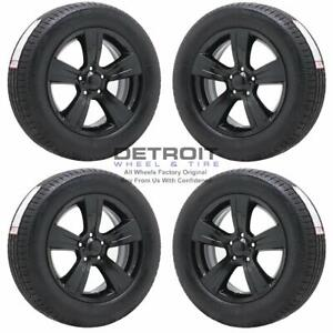 17 Jeep Compass Gloss Black Wheels Rims Tires Oem Set 4 2011 2017 2380