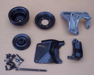 Ford 177 200 6 Cylinder Power Steering Brackets Pulleys Maverick Mustang Falcon