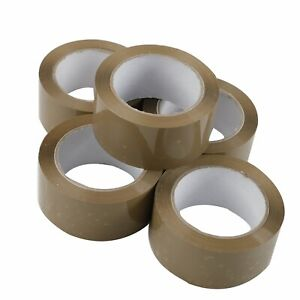 36 Rolls 2 Inch X 110 Yards Packing Sealing Shipping Package Brown Tape 2 mil