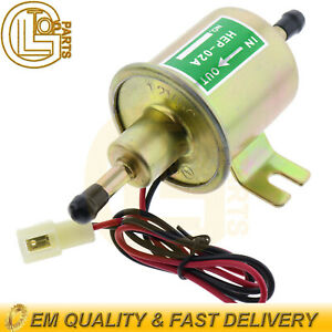 Universal Electric Low Fuel Pump 12v Hep 02a 4 7psi Gas Diesel Inline