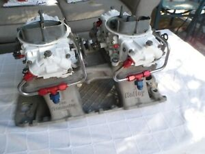 Holley Pro Dominator Tunnel Ram big Block Chevy W Matching 9645 Carbs