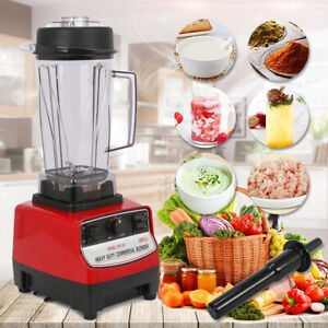 Home Commercial 3hp Blender Mixer 2l Heavy Duty Ice Crusher 2200w Blender