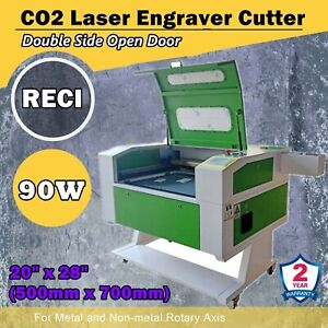 20 X 28 Reci 90w Co2 Laser Engraver Cutter With Double Side Open Door Fda ce