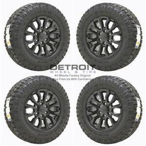 17 Ford Ranger Gloss Black Wheels Rims Tires Oem Set 4 2019 2020 10230