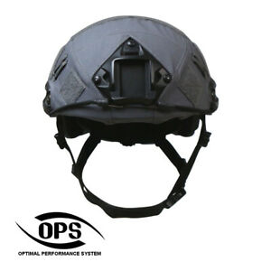 OPS FAST Helmet Cover Wolf Grey GBP 25.99