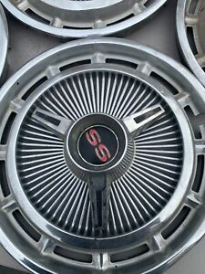 1965 Chevy Impala Ss Hubcaps