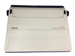 Brother Ax 10 Electronic Electric Typewriter Tested Works Clean