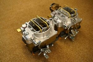 Original 57 58 59 60 61 Corvette Wcfb Carter 2x4 Carburetors 270 Hp 2613s 2614s