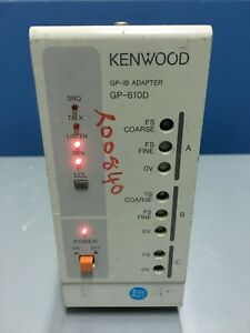 Kenwood Gp 610d Gp ib Adapter For Pd Series Power Supplies