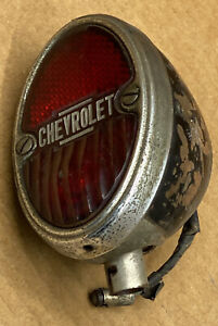 Rare Chevrolet Tail Light 1933 1934 1935 1936 Light Lamp Lens Chevy Truck