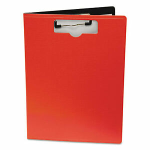 Portfolio Clipboard With Low profile Clip 1 2 Capacity 8 1 2 X 11 Red 61632