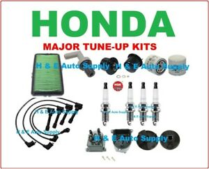 90 91 Accord Tune Up Kits Spark Plugs Wireset Filters Distributor Cap Rotor