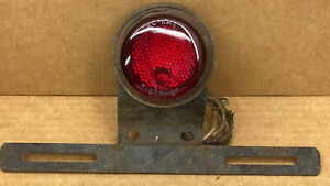 Vintage Nu Ray Tiger Ey License Plate Light Brake Light With Do ray 1085