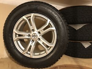 4 Winter Tires General Altimax 235 65 R17 On Sport Edition Alloy Rims