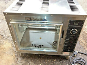 Chicken Rotisserie Bk Industries 115v Electric Countertop Cooks 16 Chickens