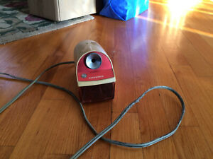 Electric Pencil Sharpener 4 1 2 x7 x 6 3 6 Blue gray
