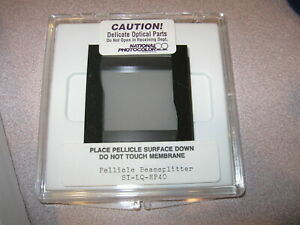 New National Photocolor Beam Splitter Pellicle For Visible Square St lq np40