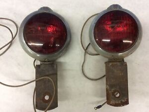 Vintage Signal Lights Made By Unity Sr33
