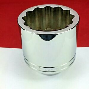 New 2020 Snap on 2 1 8 Ldh682 3 4 Drive 12 point Chrome Shallow Socket