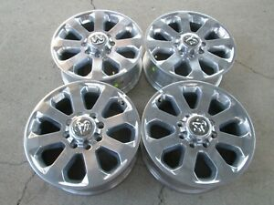 20 Dodge Ram 2500 3500 20 Factory Oem Wheels Rims Polished