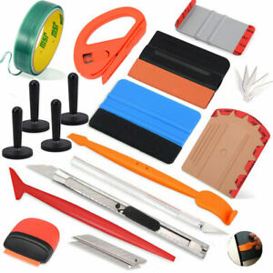 Car Wrap Tools Vinyl Avery Squeegee 5m Finish Line Tape 4 Magnets Application