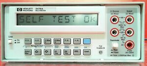 Hp 3478a 5 5 digit Digital Multimeter Fully Tested