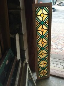 Sg 1130 10 Available Price Separate Stained Glass Transom Window 11 5x 55 5