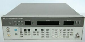 Agilent 8657a Synthesized Signal Generator 100 Khz To 1040 Mhz Fully Tested