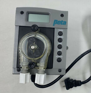 Beta Technology Dr 2000 115v Time Based Dosing System Pump Chemicals Solvents