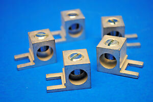 Lot Of 5 Add On Lug For Equipment Ground Bar 14awg 2 0 Awg Copper Aluminum