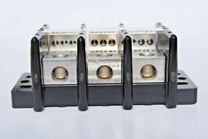 Usd 16021 Distribution Block 175 amp 600 volt 3 phase Line 2 0 8 Load 6 14