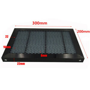 Honeycomb Working Table Panel Board Platform 300 x200 22mm For Laser Cutter us