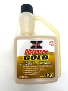 Rev x Distance Gold Diesel Fuel System Cleaner Cleans Turbo Injectors Dpf