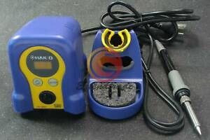 Hakko Fx 888d Hot Gun 70w 220v Pro Digital Soldering Station Welder Iron Repair