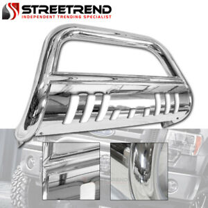 For 06 10 Ford Explorer 07 Sport Trac Stainless Hd Bull Bar Bumper Grille Guard