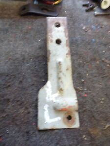 Ford 8n Tractor Rear Light Mount Brace Bracket To Fender Bracket Only 9n 2n 600
