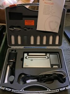 Carefusion Ml3500 Mk8 Microlab Spirometer Nice With Case Manuals Box Qty