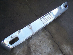 Mopar 1965 Plymouth Satellite Front Bumper With Guards 65 Belvedere
