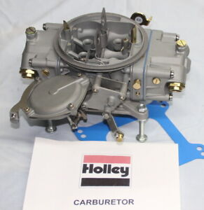 Holley 3916 1s 950 Cfm 3 Barrel 834 Date 1968 Hp Carburetor Re Manufactured