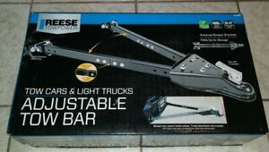 Reese Towpower 7014200 Adjustable Tow Bar Brand New