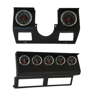 Autometer For 87 96 Jeep Wrangler Yj 7pc Direct fit Dash Gauge Kit Am7040