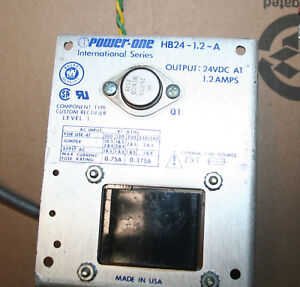 Power One Hb24 1 2 a Power Supply