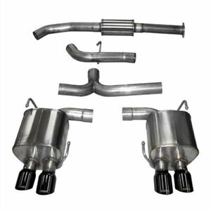 Corsa 14857blk Sport Cat back Exhaust System 2015 2018 Subaru Wrx Turbo 2 0l 2