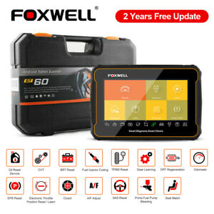 Foxwell Gt60 Obd2 Scanner All System Diagnostic Tool Abs Tpms Srs Dpf Oil Reset