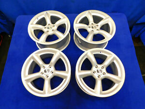 05 06 07 08 09 Mustang 19 Saleen Staggered Heritage Wheel Set Silver C87